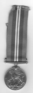 Tadeusz Gorecki War medal