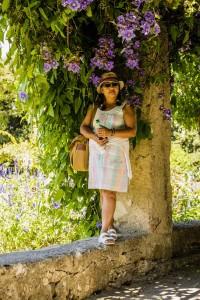 The gardens of Jardins Monastère de Cmiez Nice France
