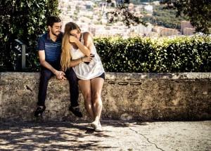 Tiffany and Boyfriend at Jardin Monestry gardens, Nice, France