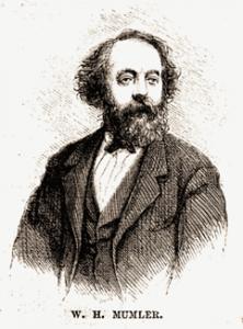 Etiching of William Mumler
