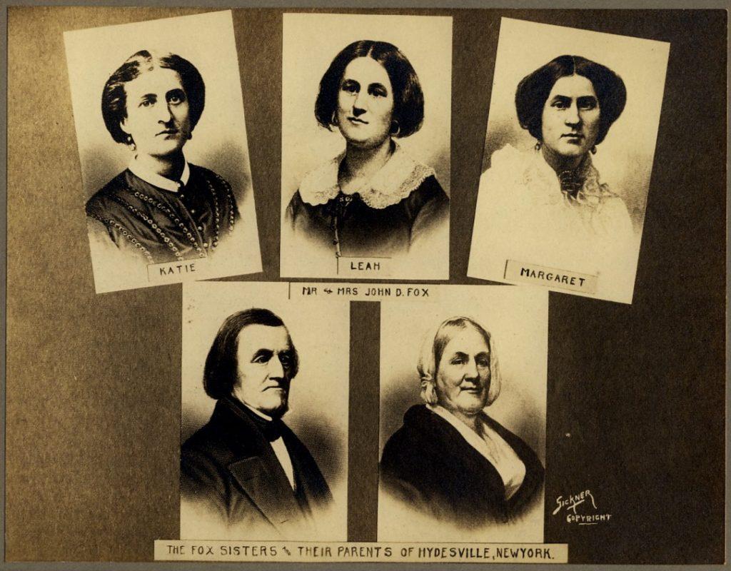 Portraits of the Fox Family