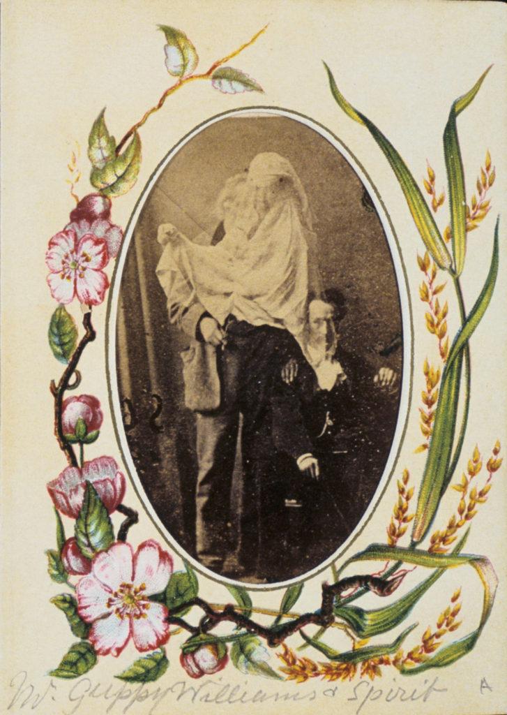 Frederick Hudson, Samuel Guppy (left), the medium Charles Williams