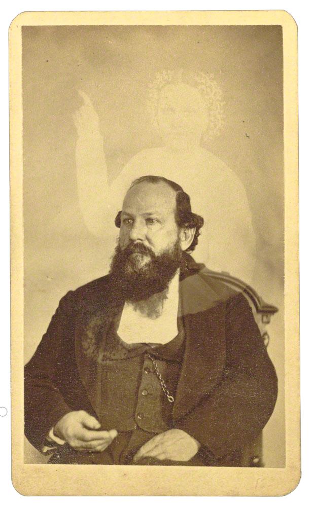 Self Portrait William Mumler with Extra