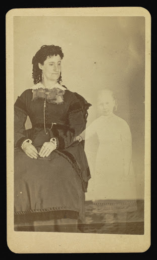Mrs. Tinkham, 1862-1875, and Extra, photographed by William H. Mumler