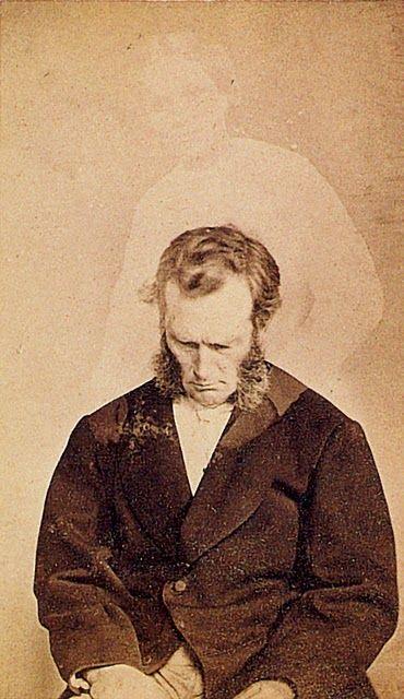 William H. Mumler, Bronson Murray with spirit extra of Ella