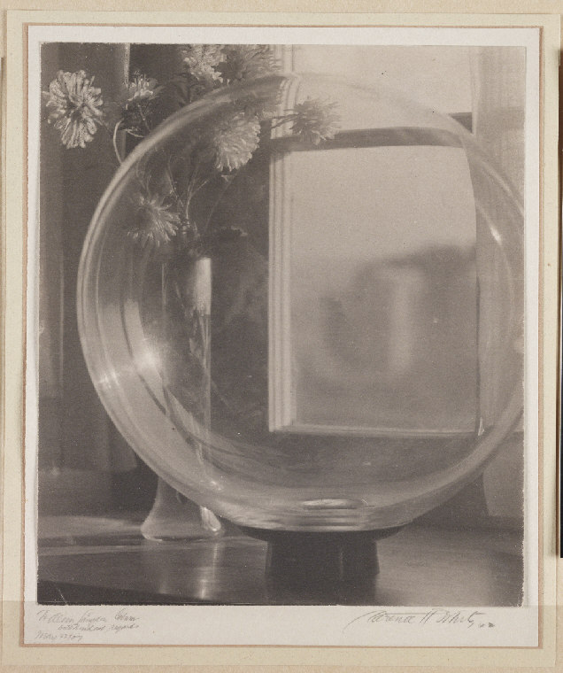 Still life (1907) by Clarence White
