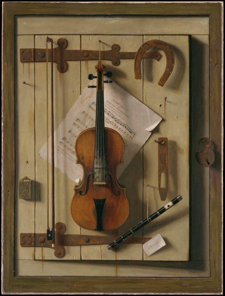 "William Michael Harnett ""Violin and Music"""