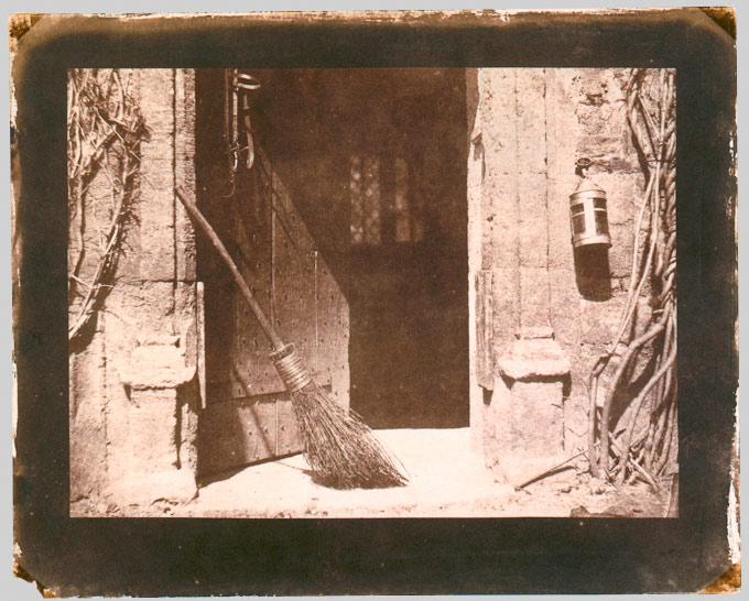 The Open Door William Henry Fox Talbot 1844