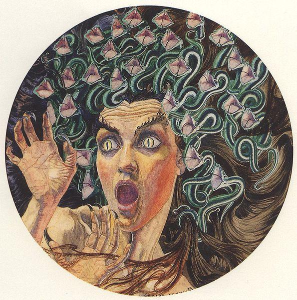 Carlos Schwabe Medusa (1895)