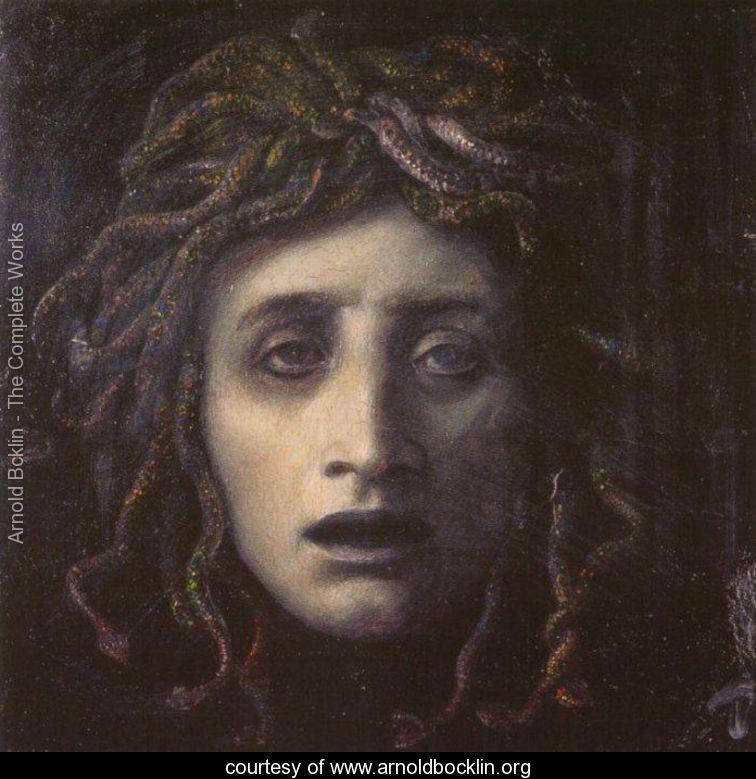 Medusa Painting by Arnold Bocklin
