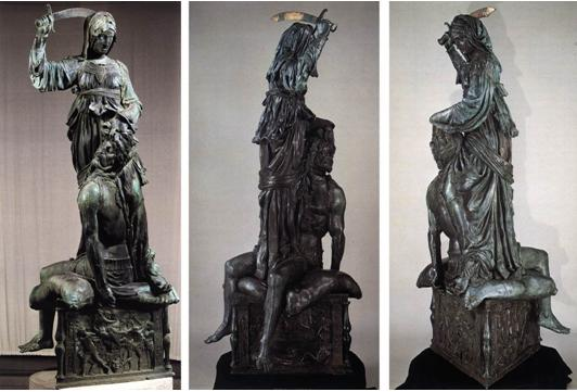 Sculpture Judith and Holopherne by Donatello