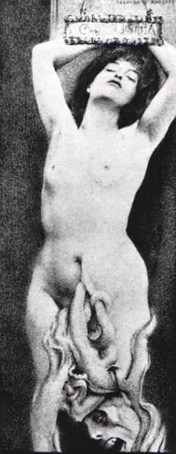 Fernand Khnopff, Istar, 1888