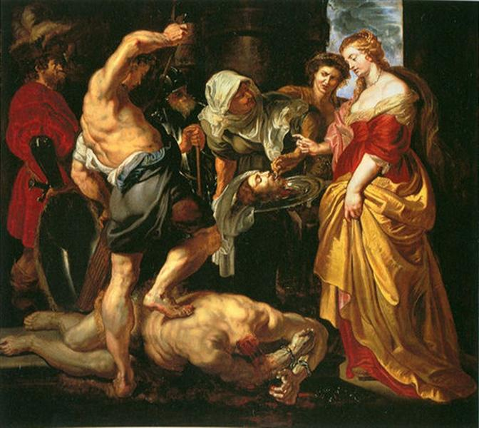 Beheading of John the Baptist by Rubens