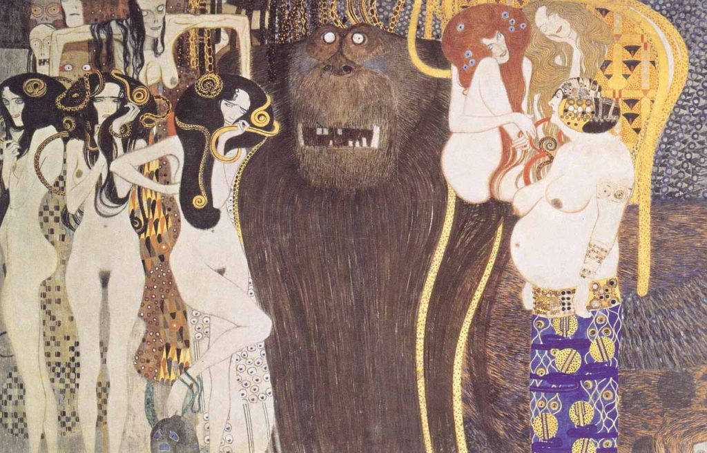 Gorgonas de Klimt