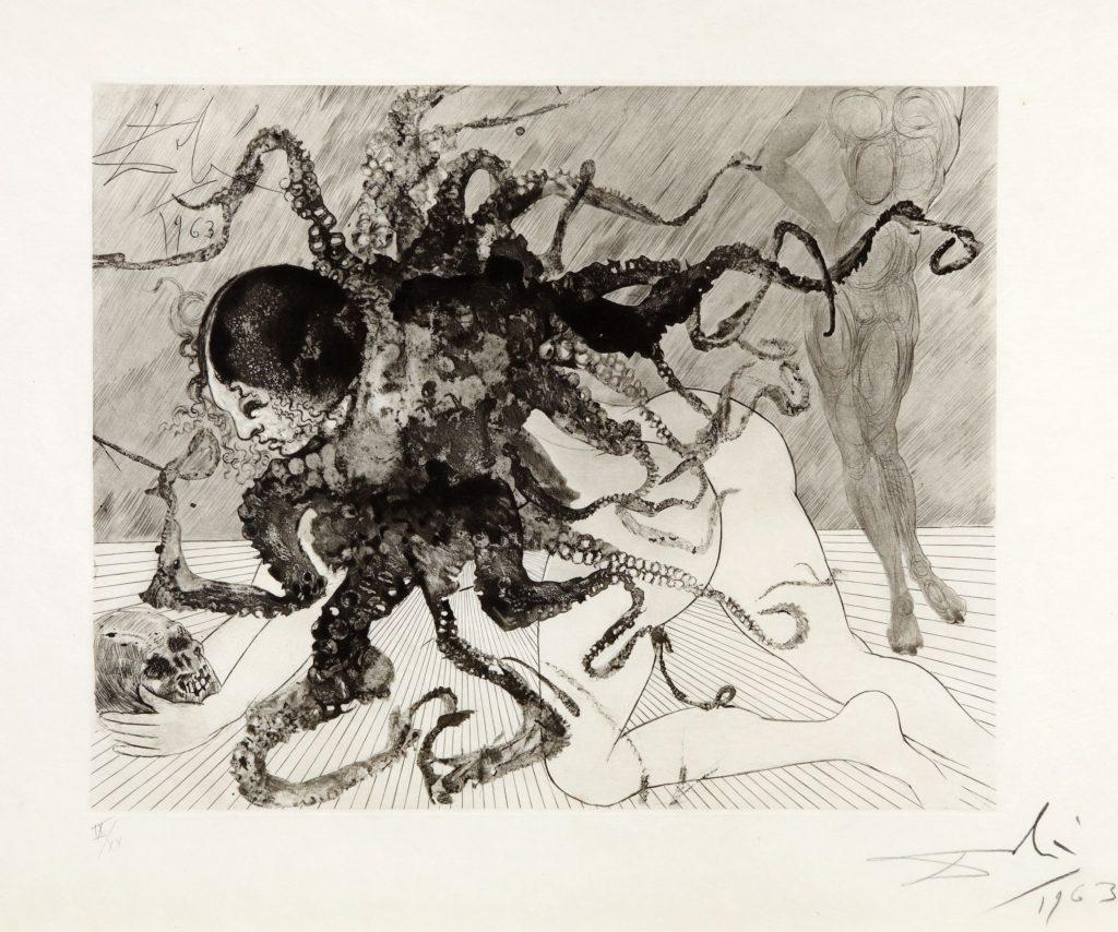 Salvador Dali Medusa 1963