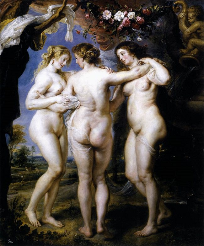 The Three Graces, Rubens