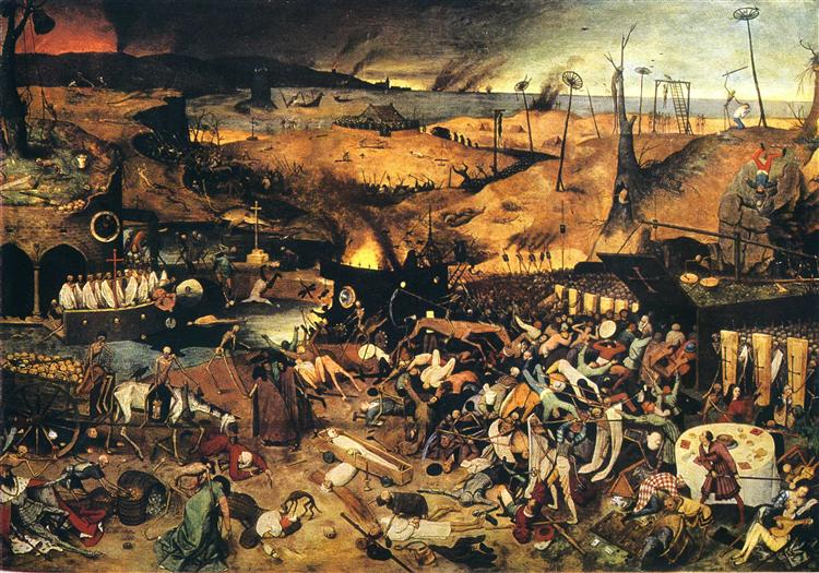 The Triumph of Death Pieter Bruegel the Elder Original Title: De Triomf van de Dood