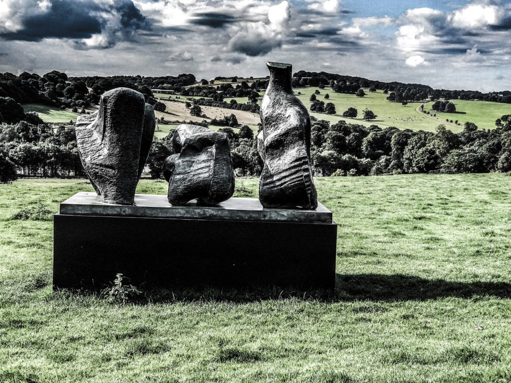 Henry Moore Sculpture photographed by Roland Keates
