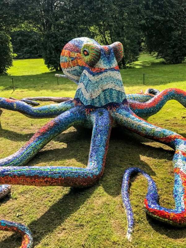 Sculpture by Marialuisa Tadei Octopus (Polipo)