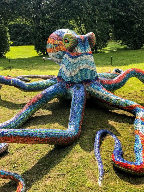 Sculpture by Marialuisa TadeiOctopus (Polipo)