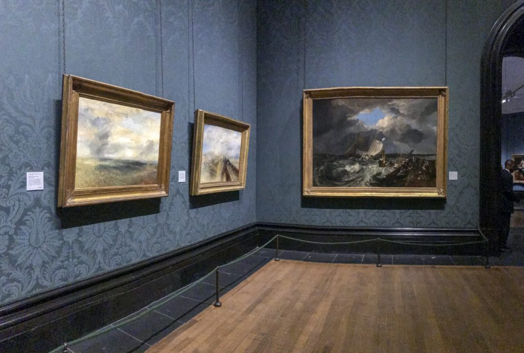 Paintings by William Turner at National Portrait Gallery
