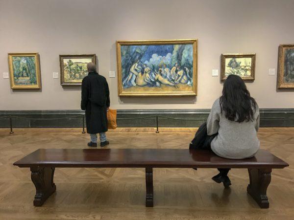 Paul Cézanne, Bathers (Les Grandes Baigneuses