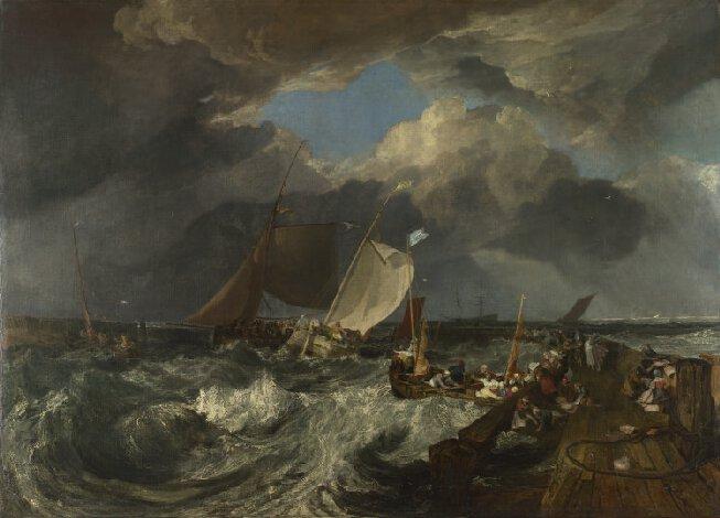 Joseph Mallord William Turner, Calais Pier