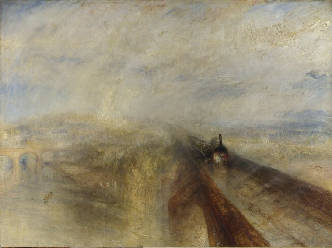 Joseph Mallord William Turner, Rain, Steam, and Speed