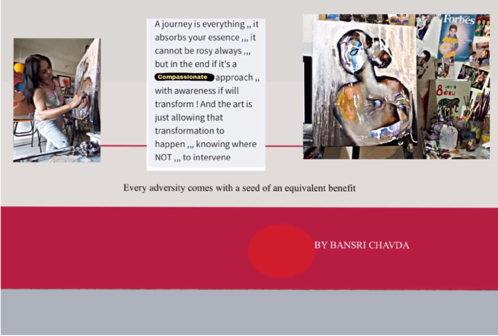 Indian Artist Bansri Chavda