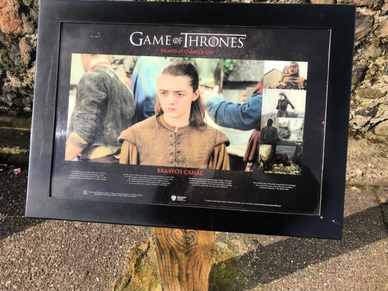 Game of Thrones Filming used in Northern Ireland -Carnlough Harbour