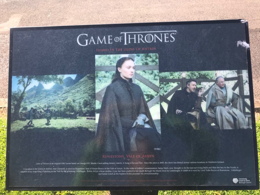 Game of Thrones Filming used in Northern Ireland -Galboly