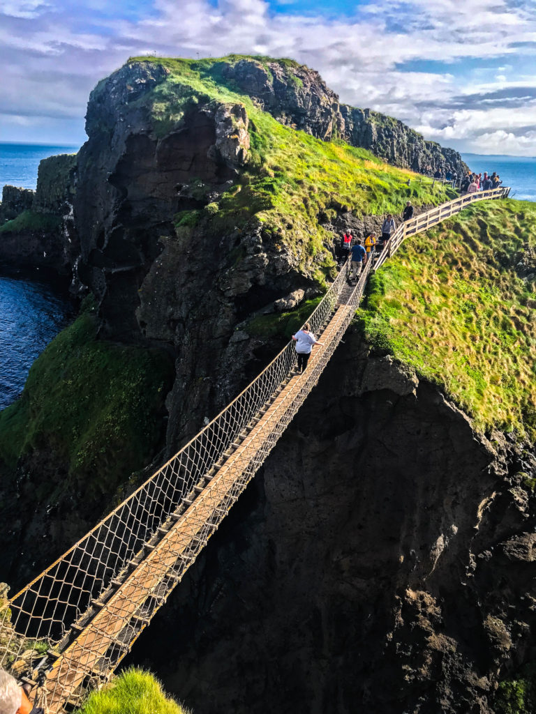 Game of Thrones filming location at Carrick-a-rede
