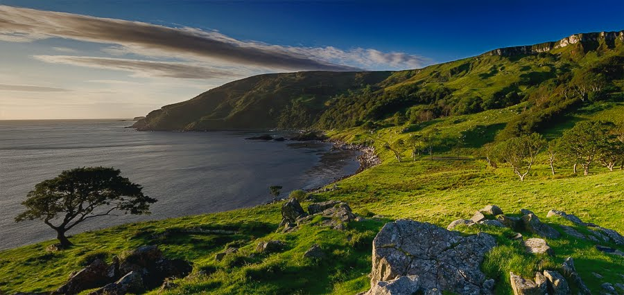 Game of Thrones filming location at Murlough Bay