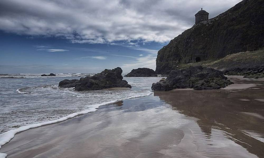 Game of Thrones filming location at Downhill Beach (Rocadragón)